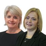 Emma Shipp and Lynne Adams