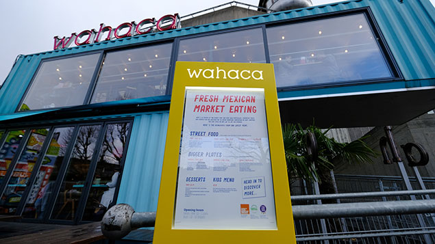 Wahaca's South Bank branch