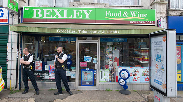 Bexley shop attack