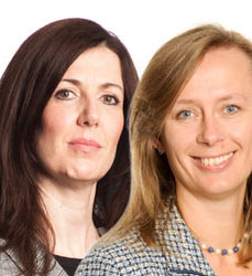 Diane Gilhooley and Paula Barrett