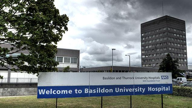hospital essex basildon
