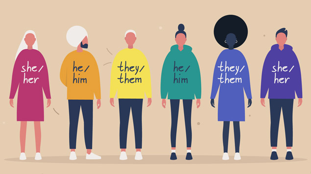 Gender identity: How to be more inclusive when using pronouns - Personnel  Today