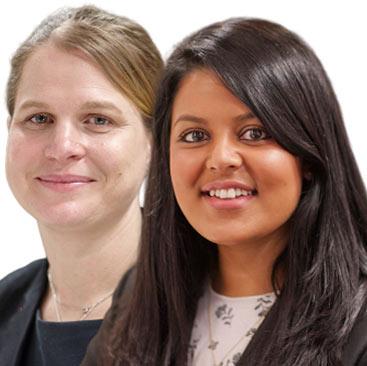 Beth Hale and Pooja Dasgupta