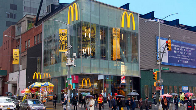 A McDonald's branch in New York.Photo: Shutterstock
