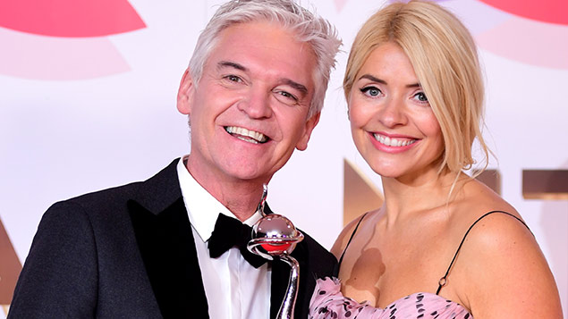 Phillip Schofield and ITV co-host Holly Willoughby