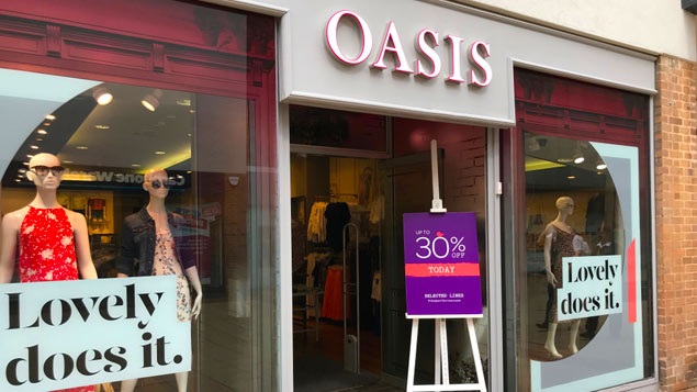 Oasis and Warehouse to call in administrators