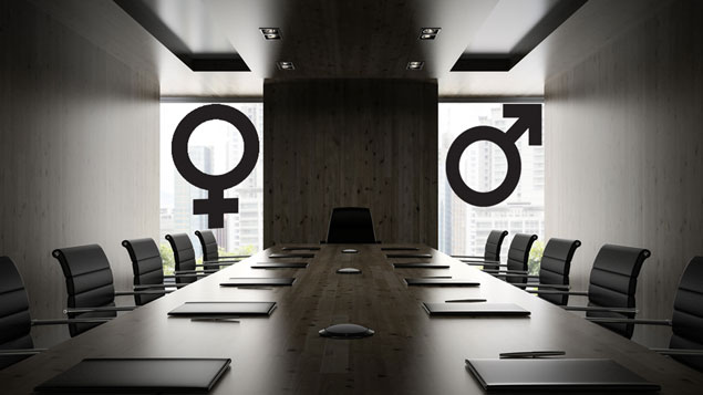 gender split in boardroom