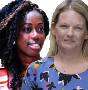 Ama Afrifa-Tchie and Sarah McIntosh