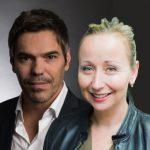 Philippe Gomes and Marine Fournier