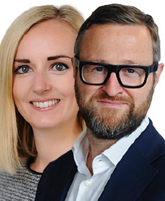 Sean Dempsey and Sophie Jamieson